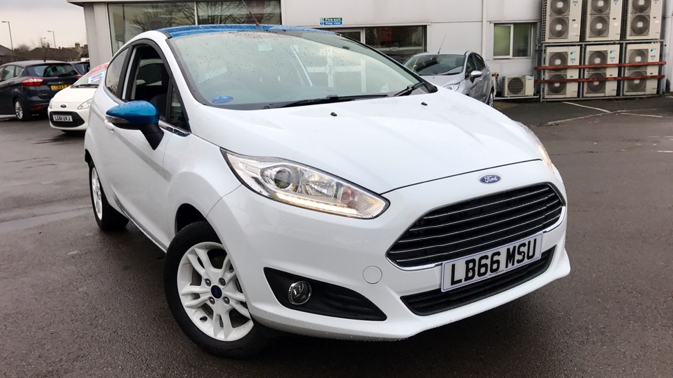 ford fiesta zetec white edition 1 0 ecoboost 100ps 3 door. Black Bedroom Furniture Sets. Home Design Ideas