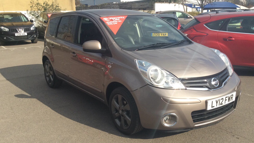 Nissan Note 1.6 N-Tec+ 5dr Auto Automatic Hatchback (2012) image