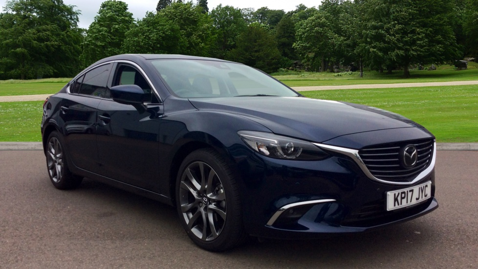 mazda 6 175 sport nav diesel automatic 4 door saloon 2017 kp17jyc in stock used. Black Bedroom Furniture Sets. Home Design Ideas