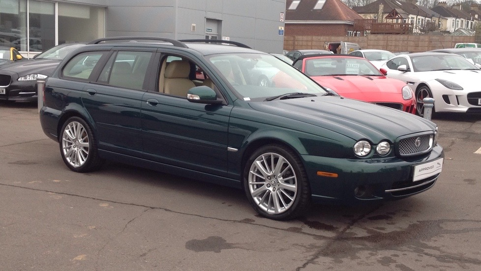 Jaguar X-Type S Sport Pack 2.2 Diesel 5 door Estate (2009) image