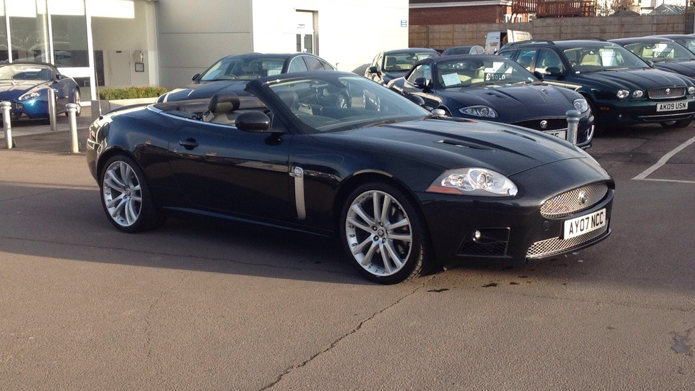 Jaguar XKR 4.2 Supercharged V8  Automatic 2 door Convertible (2007) image