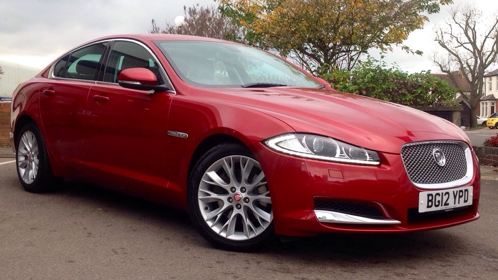 Jaguar XF V6 Luxury High Spec 3.0 Diesel Automatic 4 door Saloon (2012) image