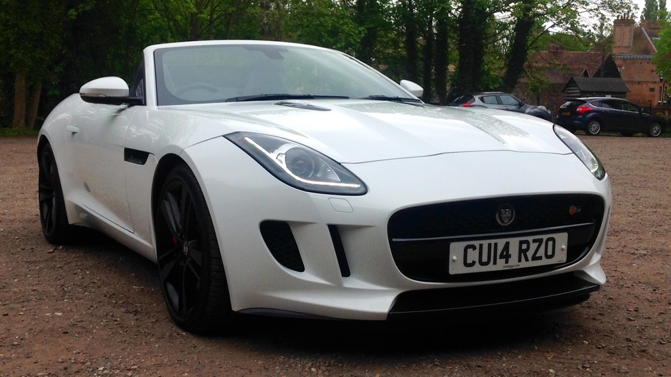 Jaguar F-TYPE 3.0 Supercharged V6 S 2dr High Spec Automatic Convertible (2014) image