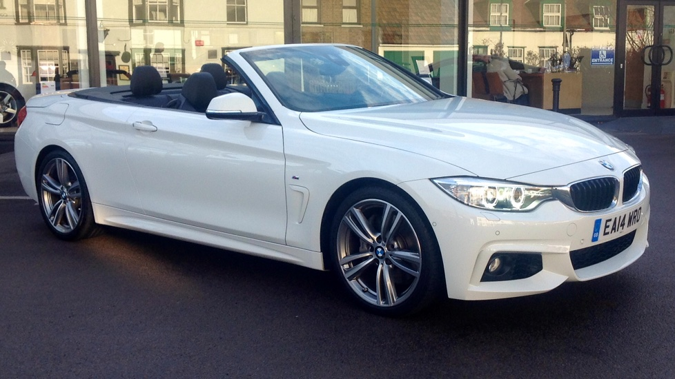 BMW 4 Series 435i M Sport 2dr 3.0 Automatic Convertible (2014) image