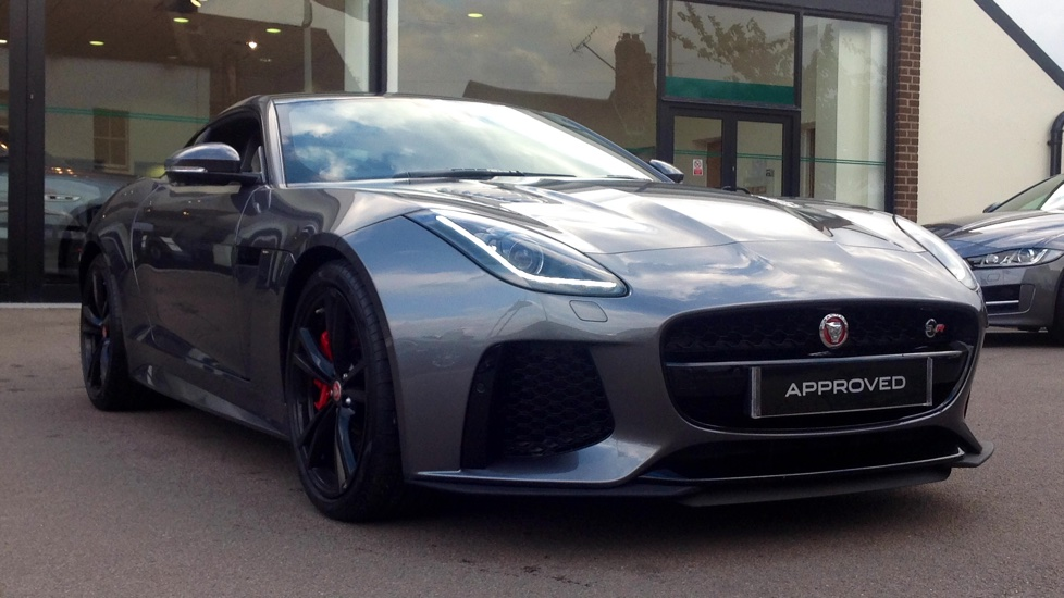 Jaguar F-TYPE 5.0 Supercharged V8 SVR 2dr AWD Automatic 3 door Coupe (2017)