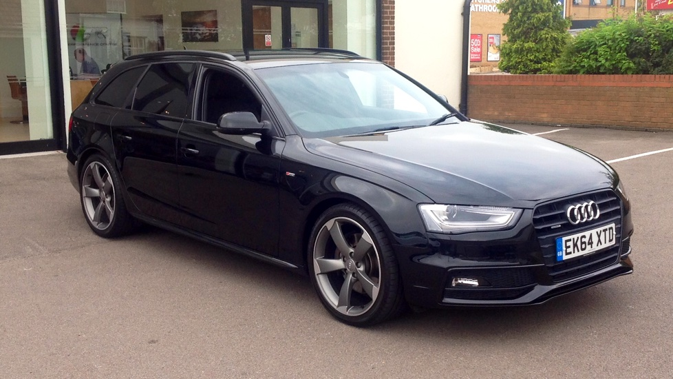 Audi A4 3.0 TDI Quattro S Line Black Edition 5dr S Tronic with Sat Nav & Rear Parking Camera Diesel Automatic Estate (2014) image