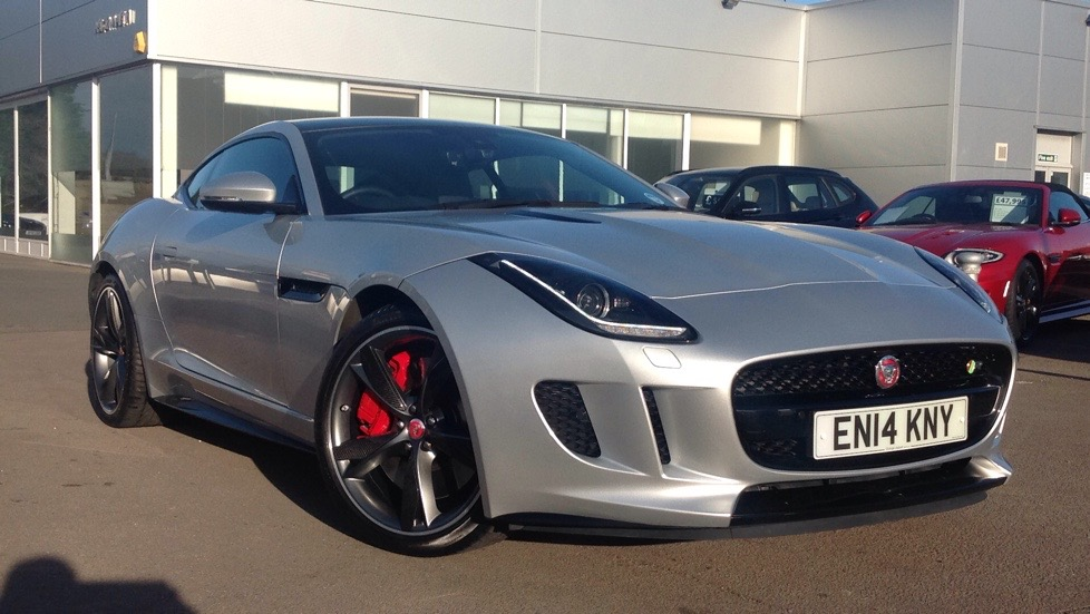 Jaguar F-TYPE R Very High Spec inc.Pan Roof 5.0 Automatic 2 door Coupe (2015) image