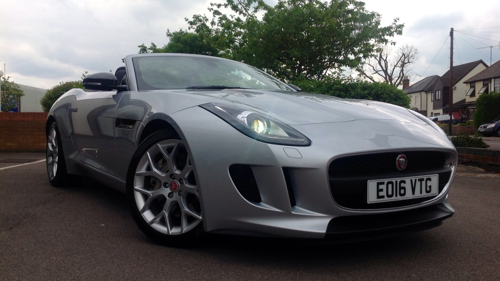 Jaguar F-TYPE 3.0 Supercharged V6 2dr High Spec Demo Car Automatic Convertible (2016) image