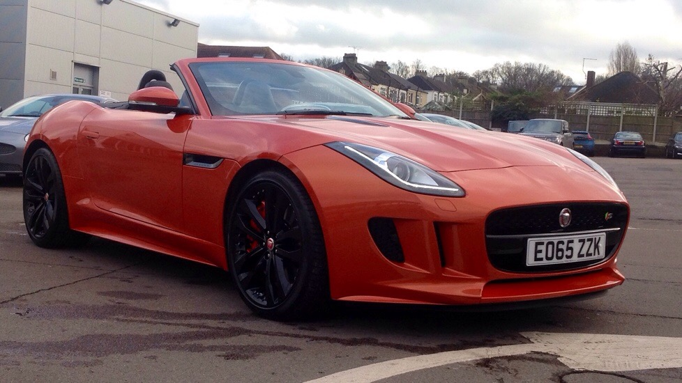 Jaguar F-TYPE 3.0 Supercharged V6 S 2dr Auto Very High spec Demo Car Automatic Convertible (2016) image