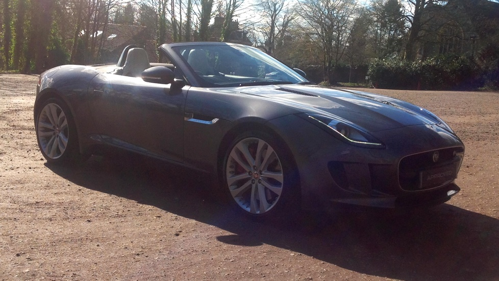 Jaguar F-TYPE 3.0 Supercharged V6 S 2dr High Spec Automatic Convertible (2017) image