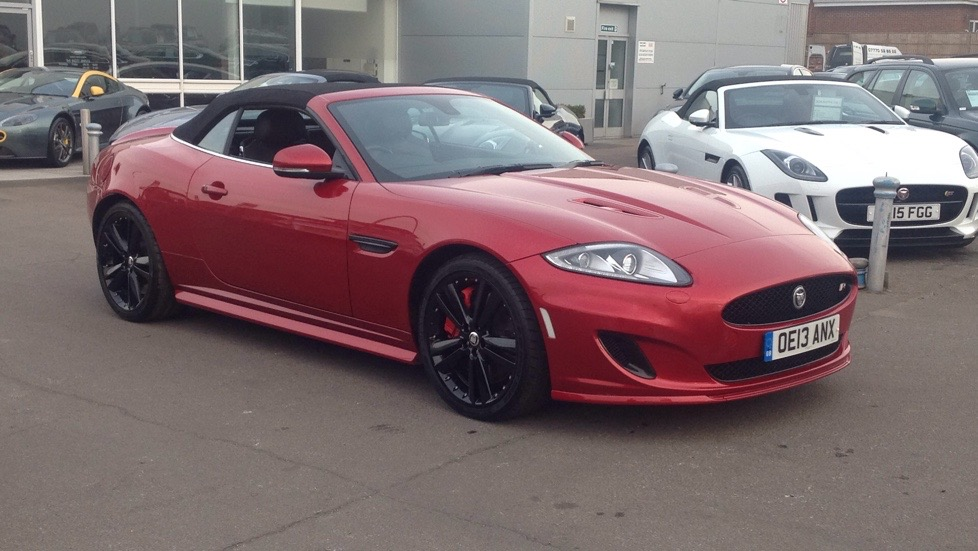 Jaguar XK Supercharged Speed Black Pack  5.0 Automatic 2 door Convertible (2014)