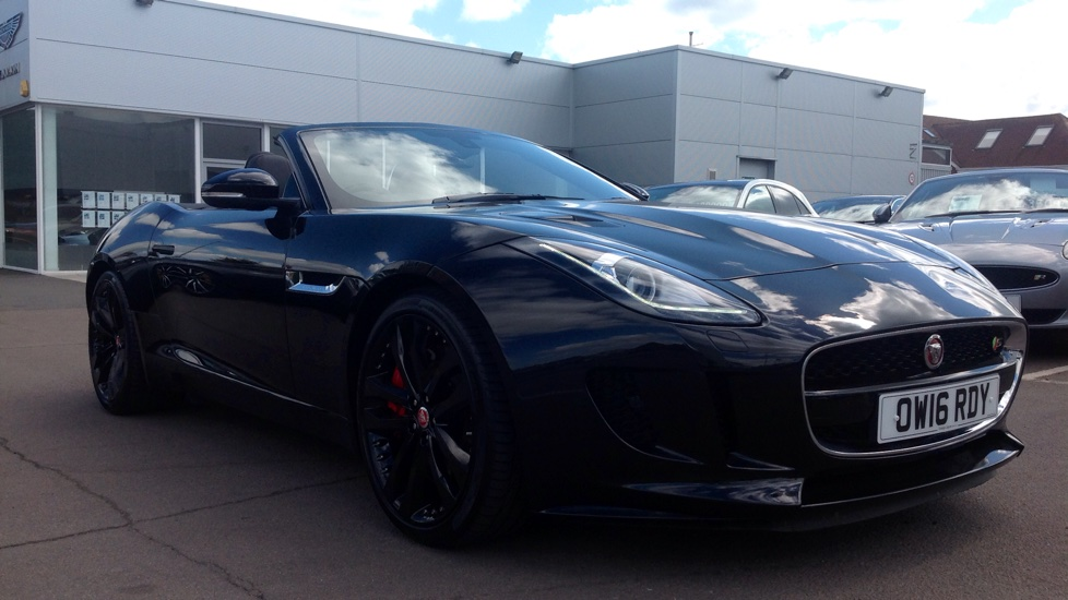 Jaguar F-TYPE 3.0 Supercharged V6 S 2dr AWD Low Mileage Automatic Convertible (2017) image