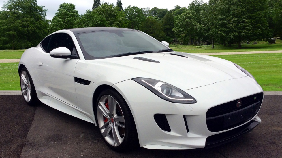 Jaguar F-TYPE Coupe 3.0 Supercharged V6 2dr Auto Automatic Coupe (2017)