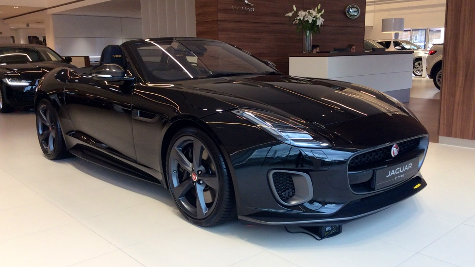 Jaguar F-TYPE Coupe 3.0 Supercharged V6 400 Sport 2dr Auto Automatic Convertible (2017) image