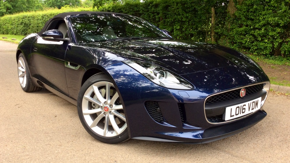 Jaguar F-TYPE 3.0 Supercharged V6 2dr Automatic Convertible (2016)