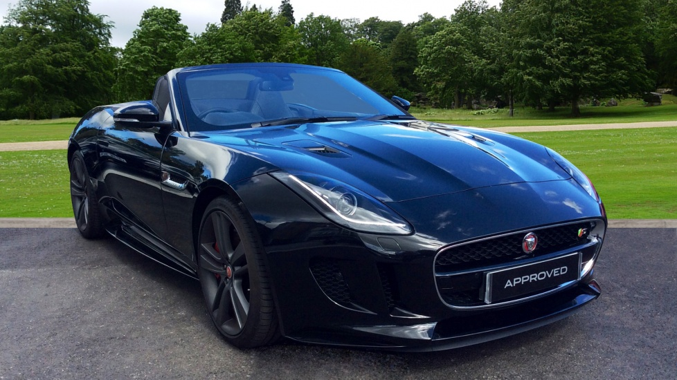 Jaguar F-TYPE 3.0 S/C V6 British Design Edition 2dr AWD Automatic Convertible (2017)
