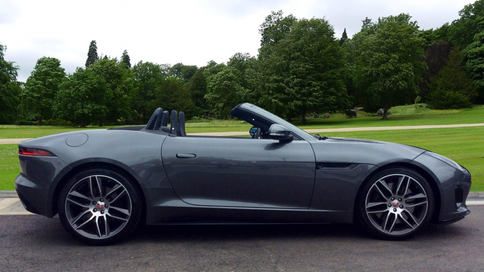 2018 jaguar f type r. wonderful type jaguar ftype v6 rdynamic convertible petrol in grey 2017 on 2018 jaguar f type r
