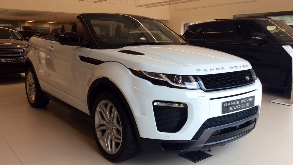Land Rover Range Rover Evoque Convertible 2.0 Ingenium Si4 HSE Dynamic Lux 2dr Auto Automatic Convertible (2017) image
