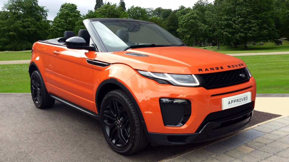 land rover range rover evoque 2 0 td4 hse dynamic 2dr diesel automatic convertible 2016. Black Bedroom Furniture Sets. Home Design Ideas