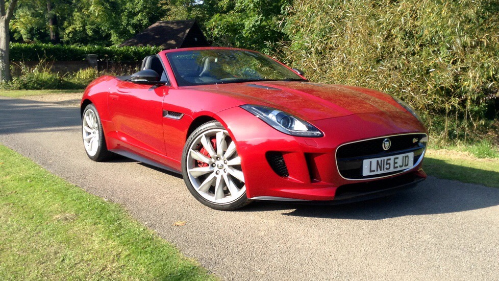 Jaguar F-TYPE 5.0 V8 Supercharged S 2dr Convertible  Automatic (2015) image