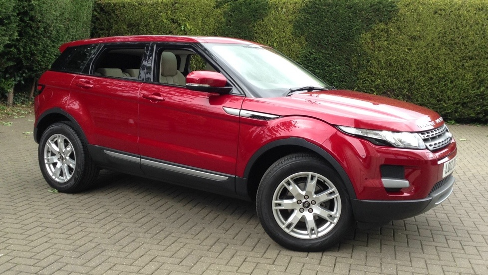 Land Rover Range Rover Evoque 2.2 SD4 Pure 5dr Auto [Tech Pack] Diesel Automatic Hatchback (2013) image