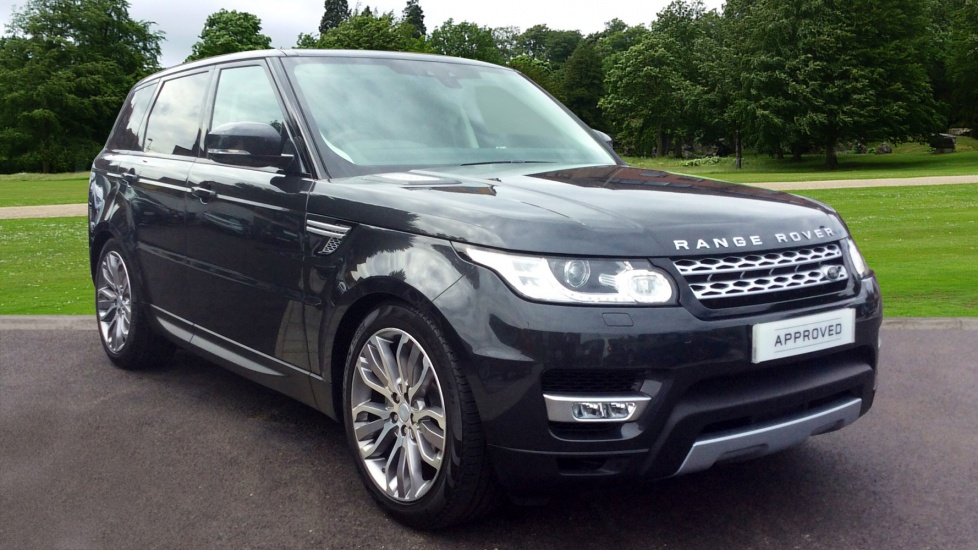 land rover range rover sport 2 0 sd4 hse 5dr diesel. Black Bedroom Furniture Sets. Home Design Ideas