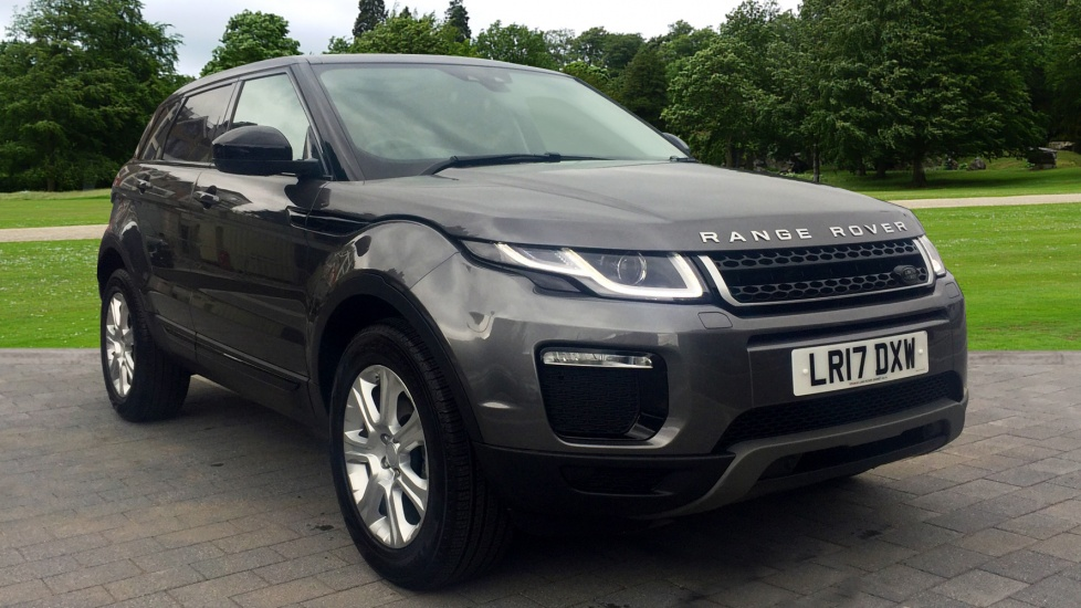 land rover range rover evoque 2 0 td4 se tech 5dr diesel 4x4 2017 lr17dxw in stock land. Black Bedroom Furniture Sets. Home Design Ideas