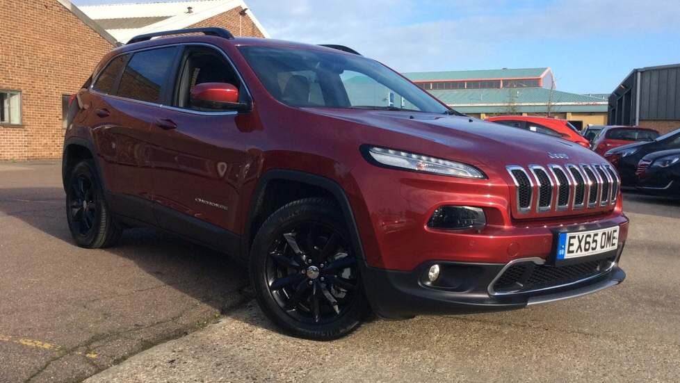 Jeep Cherokee 2.2 Multijet 200 Limited 5dr Auto 2015 -  Diesel Automatic Estate (2015) image