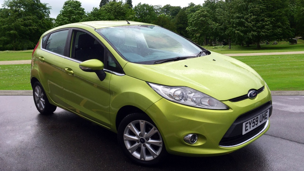 ford fiesta 1 4 zetec 5dr hatchback 2009 ey59uhe in stock rh motorparks co uk green ford fiesta front right fender green ford fiesta zetec