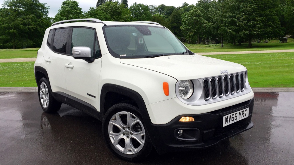 Jeep Renegade 1.4 Multiair Limited 5dr 4WD Automatic Hatchback (2016) image