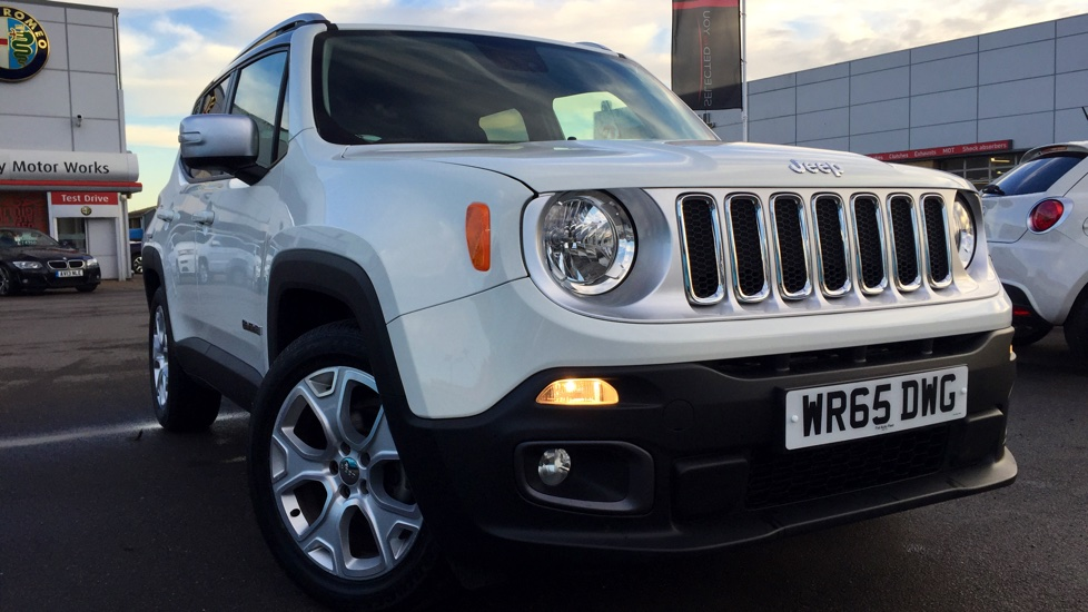 Jeep Renegade Limited Petrol White Black Wr Dwg Md on Jeep Renegade 1 6 Multijet Limited 5dr 2015