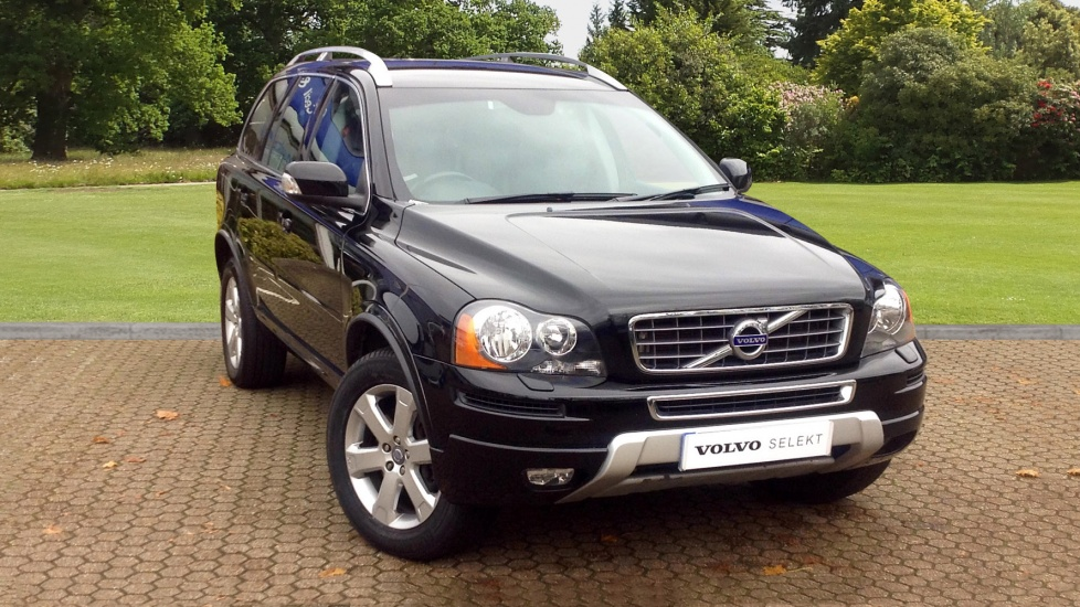 Approved Used Xc90 D5 Se Rear Seat Entertainment Volvo