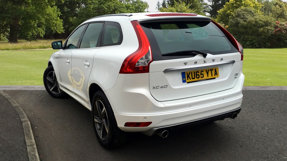 Approved Used Xc60 D5 Awd R Design Lux Sat Nav Winter Pack Active Bending Lights Crystal White