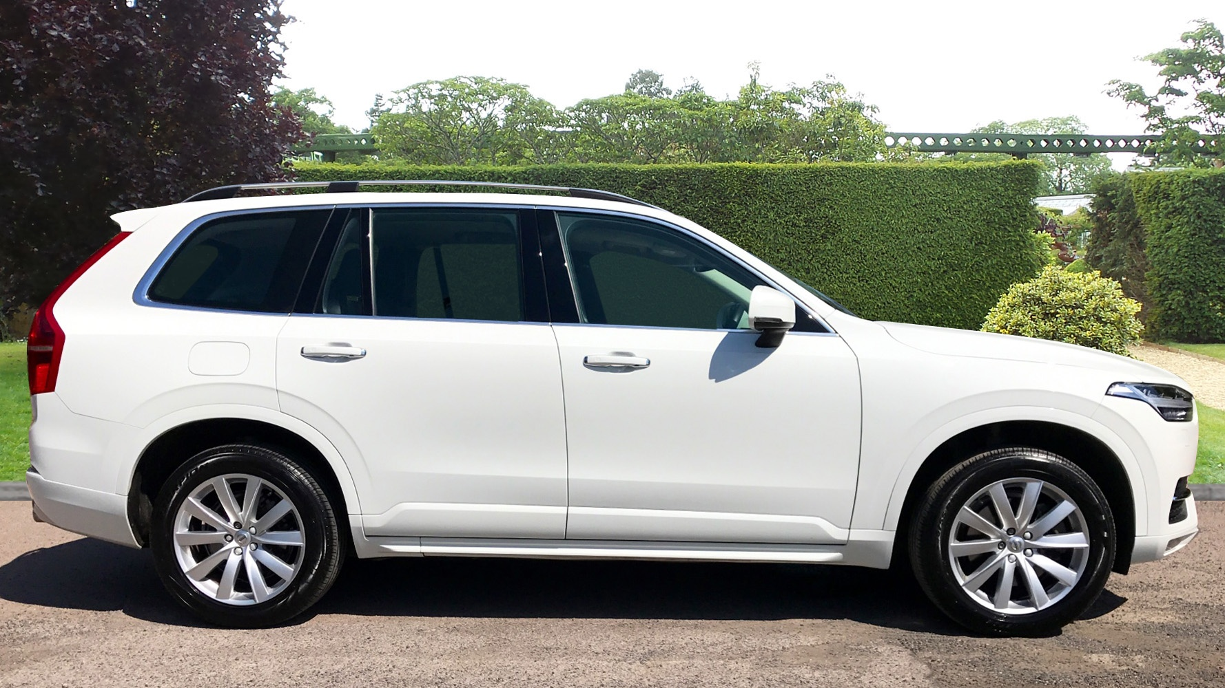 volvo xc90 d5 momentum used vehicle by parkside orpington. Black Bedroom Furniture Sets. Home Design Ideas