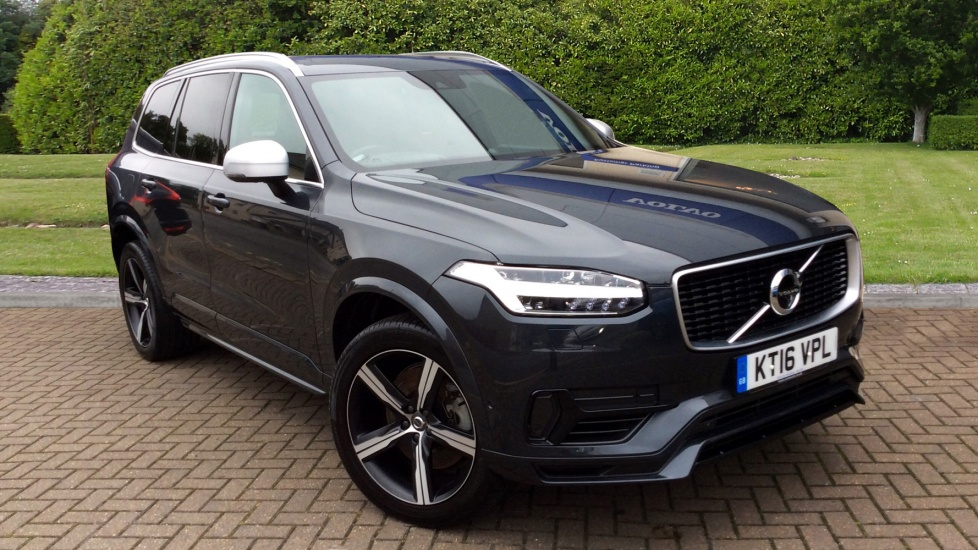Volvo XC90 2.0 T8 Hybrid R DESIGN 5dr Auto with Panoramic Roof, 360 Camera, & Bowers & Wilkins Audio Petrol/Electric Automatic Estate (2016) image