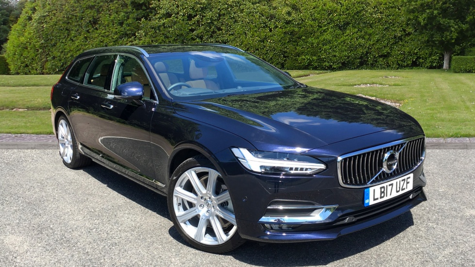 Volvo V90 2.0 D5 AWD PowerPulse Inscription Estate Auto with Xenium Pk & Bowers & Wilkins Audio Diesel Automatic 5 door (2017) image