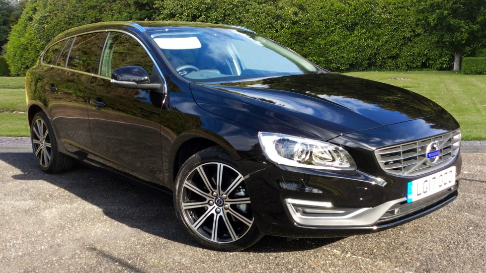 Volvo V60 D3 [150] SE Lux Nav 5dr Auto with 18 2.0 Diesel Automatic Estate (2017) image