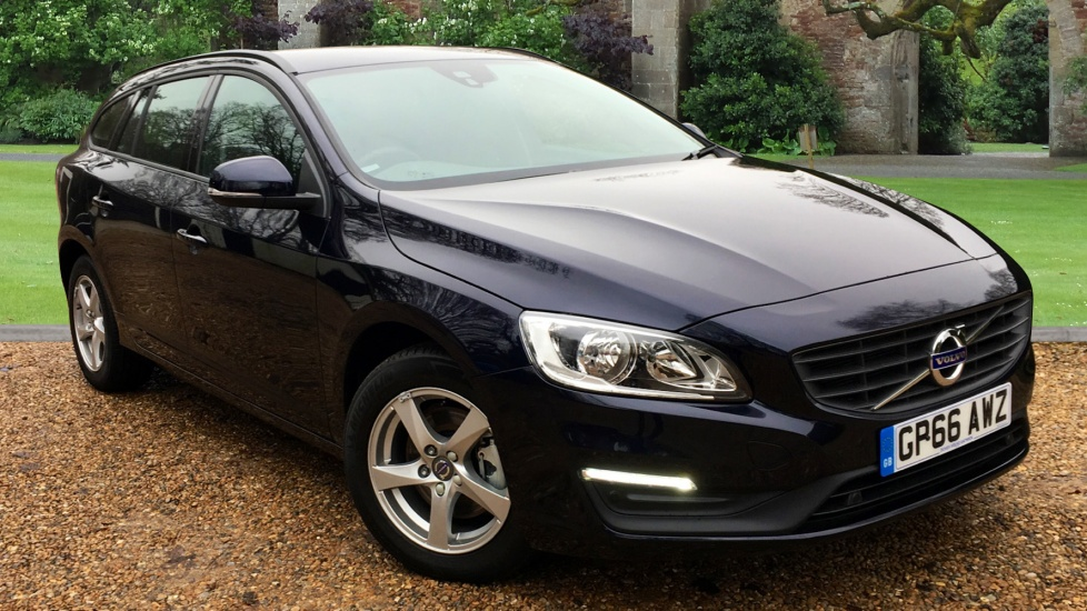 Volvo V60 D4 Business Edition Auto w. Front Park Assist & Sat Nav 2.0 Diesel Automatic 5 door (2017) image