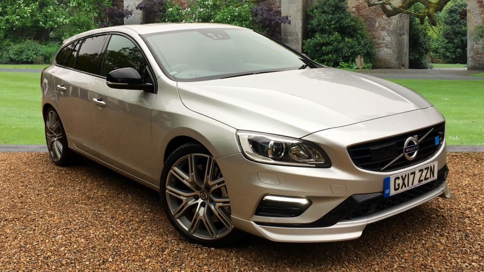 Volvo V60 2.0T AWD 367BHP Polestar Auto with Driver Support Pack, Electric Sunroof, and 20 Alloys Automatic 5 door Estate (2017) image