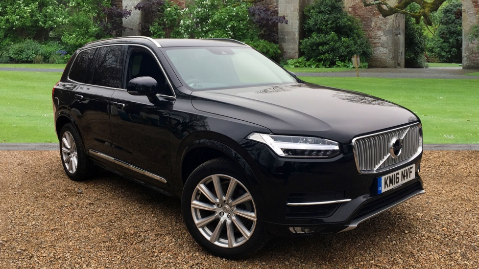 volvo xc90 2 0 d5 awd inscription 5dr auto with winter pk dark tinted windows tempa spare. Black Bedroom Furniture Sets. Home Design Ideas