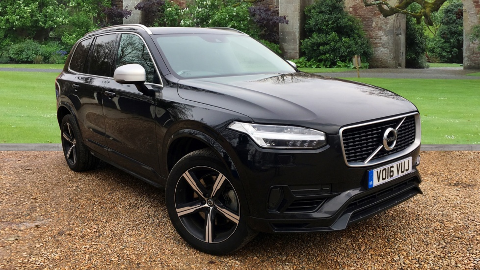 Volvo XC90 2.0 T8 Hybrid R DESIGN 5dr Auto with Panoramic Glass Roof, Apple Car Play & Volvo Sensus Sat Nav Petrol/Electric Automatic Estate (2016) image