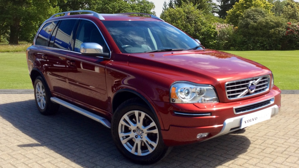 Volvo XC90 2.4 D5 [200] AWD SE Lux Nav 5dr Auto with Side Steps, 7 Seats  + Tempa Spare  Diesel Automatic Estate (2013) image