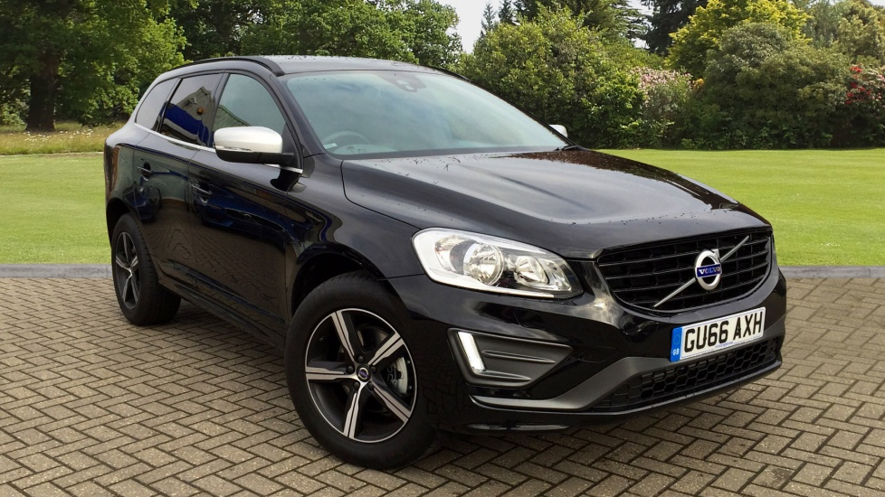 Volvo XC60 D4 R Design Nav 5dr AWD Auto w. Winter & Family Packs 2.0 Diesel Automatic Estate (2017) image