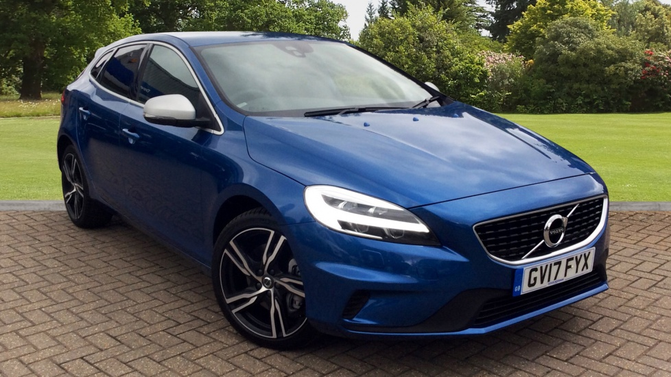 Volvo V40 T3 R DESIGN Pro Auto W. Gear Shift Paddles & Premium Sound 2.0 Automatic 5 door Hatchback (2017) image