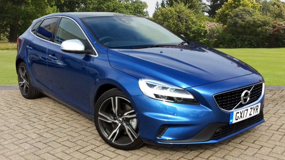 Used Volvo V40 5 Door Diesel Automatic Blue