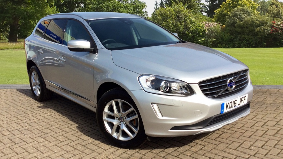 Volvo XC60 D5 [220] SE Lux Nav 5dr AWD Geartronic, Winter Pack, Privacy Glass, Tempa Spare Wheel 2.4 Diesel Automatic Estate (2016) image