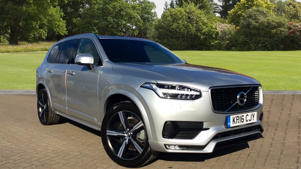 Volvo XC90 New Model 2.0 D5 AWD R DESIGN 5dr Auto with Family Pk and Winter Pack Diesel Automatic Estate (2016) image