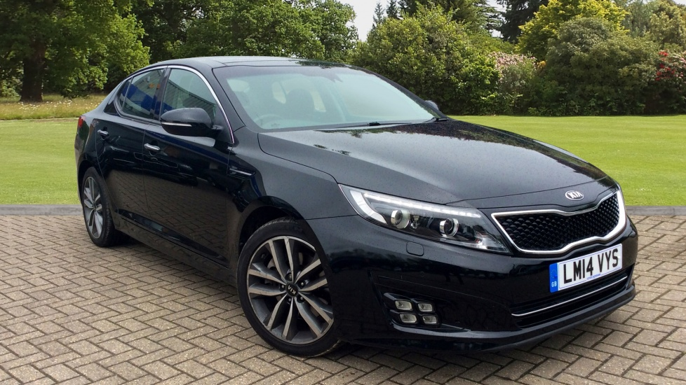 Kia Optima 1.7 CRDi 3 Saloon Auto with Panoramic Glass Roof, Leather Seats, & Rear Camera Diesel Automatic 4 door (2014) image