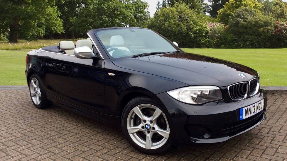 BMW 1 Series 118d Exclusive Edition 2dr Step 2.0 Diesel Automatic Convertible (2013) image