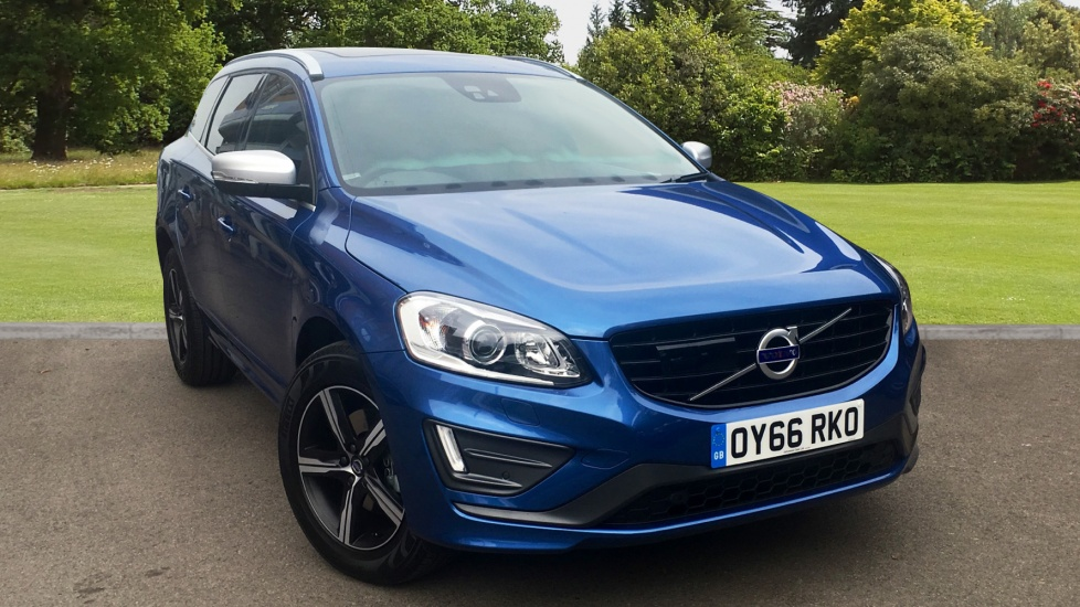Approved Used Xc60 D5 R Design Lux Nav Sunroof Driver